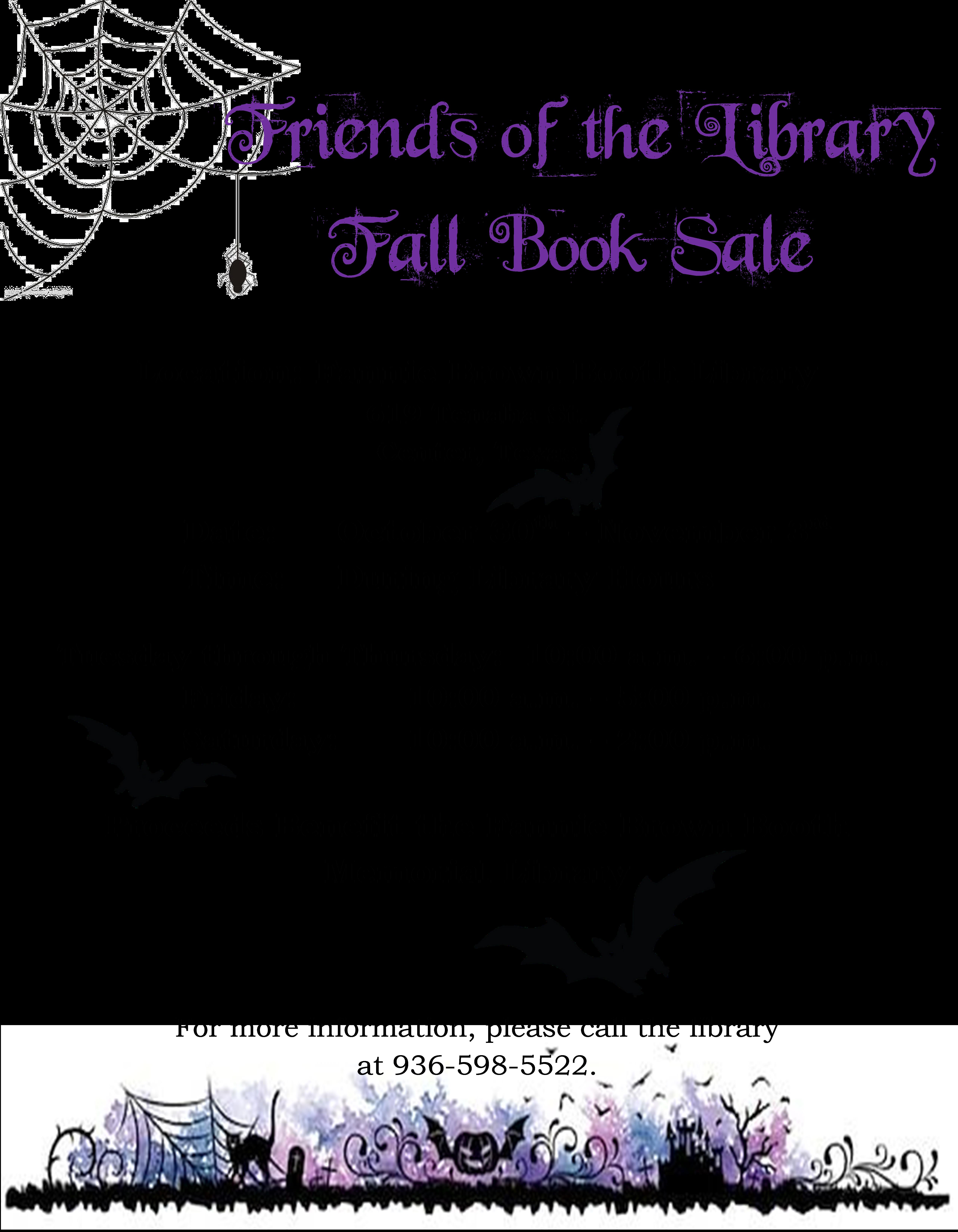 Fall Book Sale 2018 Pic Format.jpg